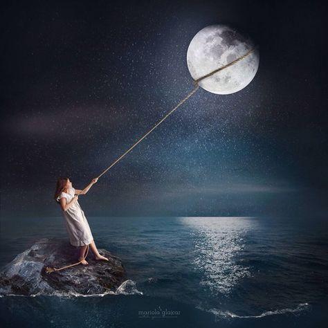 dreams and moon image