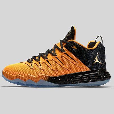7561c2de9f6e Nike Jordan CP3.IX Gs Big Kids 810871-012 Yellow Dragon Shoes Youth Size 6