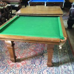 Convertible Snooker Dining Table Riley Oak Square Leg Table