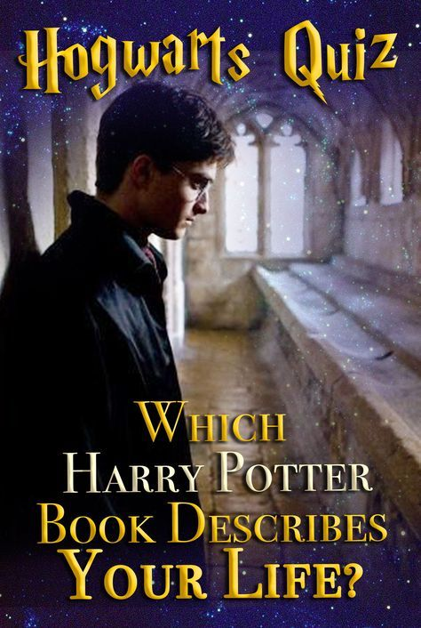 Hogwarts Quiz: Which Harry Potter Book Describes Your Life