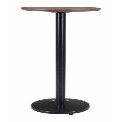 Latitude Run Alto Bistro Table Table Top Color Brown In 2020