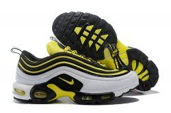 Nike Air Max 97 Plus Tn Black Yellow Men S Women S Running Shoes