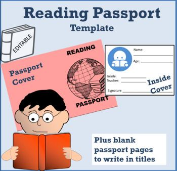 Reading Passport Template