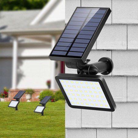Solar Spot Light Outdoor Garden Lawn Landscape LED Spotlight Flood Wall Lights