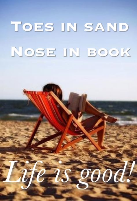 ♥ Nose in a book!