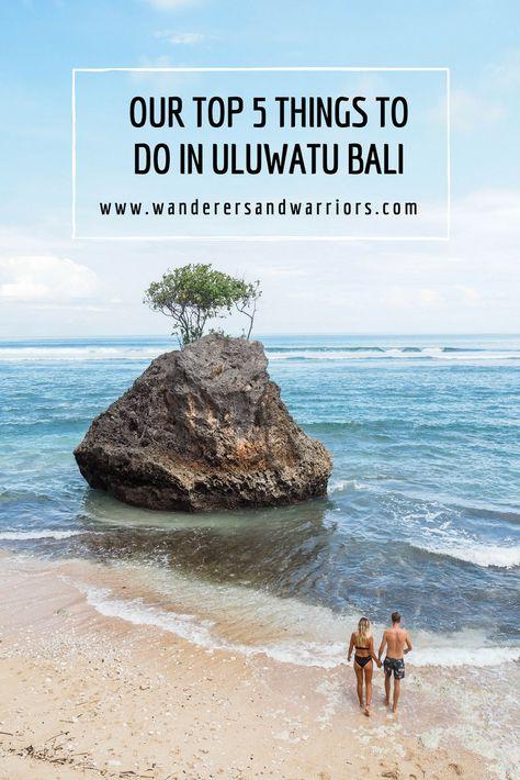 Our Top Things to do in Uluwatu Bali - Uluwatu Beach Uluwatu - Bingin Beach Bali - Wanderers & Warriors - Charlie & Lauren UK Travel Couple