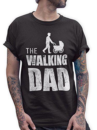 The Walking Dad Herren T Shirt Vatertag Geburtstag Geschenk