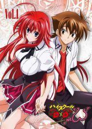 High School Dxd New ภาค2 Highschool Dxd Dxd Anime High School