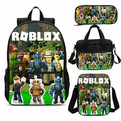 Roblox Characters Kids Boys School Backpack Sling Bag Lunch Box Pen Case Lot