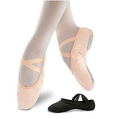 Leo Womens Arabesque Canvas Dance Shoe