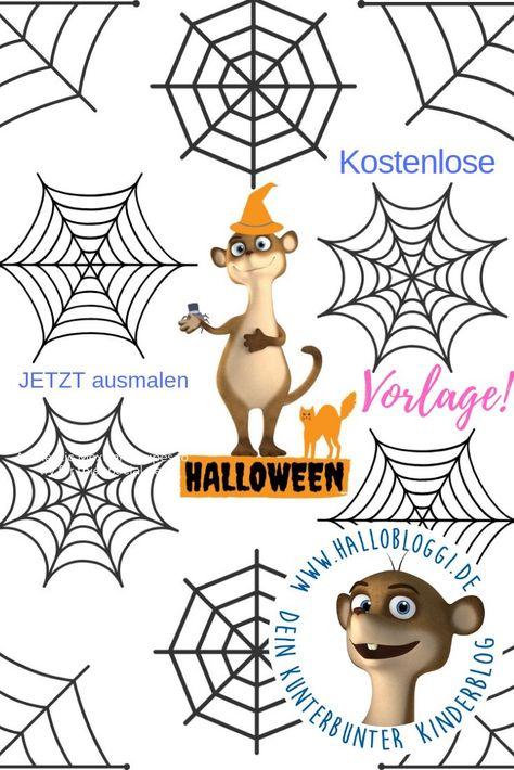 Halloween Monster Basteln Einfache Bastelidee Zu Halloween Fur