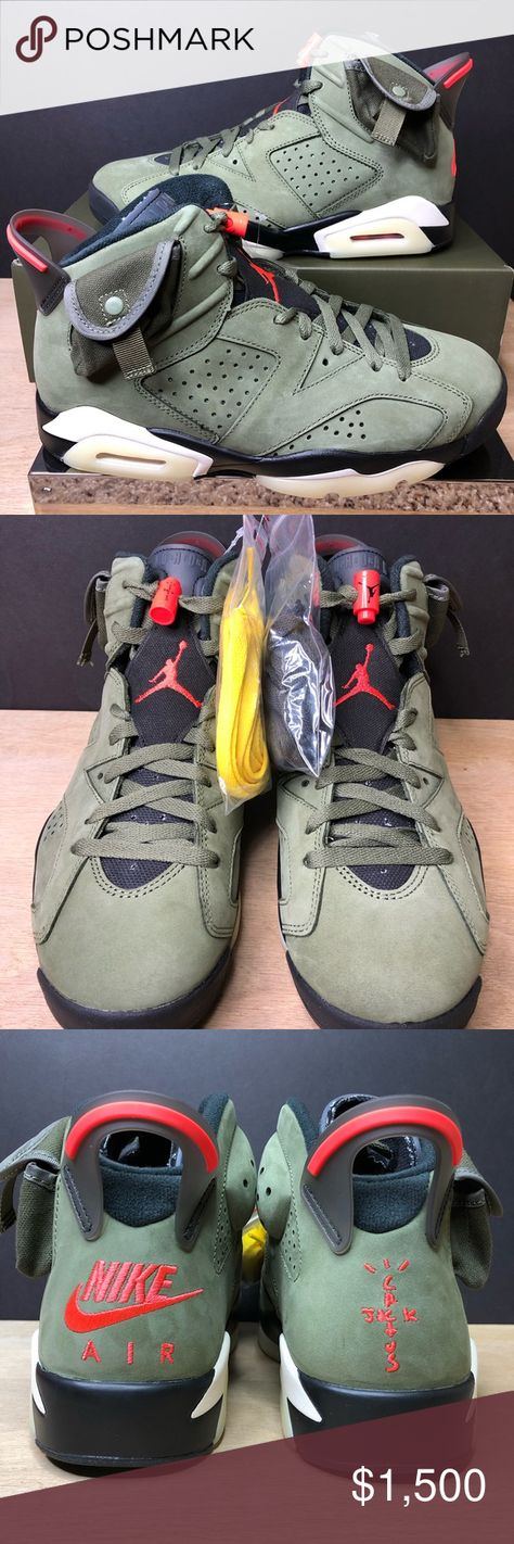 Jordan 6 Retro Travis Scott CN1084-200 Size 8 Jordan 6 Retro Travis Scott CN1084-200 Size 8 Brand New With Original Box Smoke Free Pet Free Location Fast Shipping All our shoe listings are 100% Authentic Will ship out On the Same day if purchased early or next business day for after hours orders Jordan Shoes Athletic Shoes