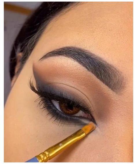90s Makeup, Baddie Makeup, Grunge Makeup, Glam Makeup, Makeup Inspo, Makeup Inspiration, Glamorous Makeup, Gorgeous Makeup, Makeup Eye Looks