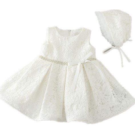 469e8ab3d770a HELLO BABY - Robe de baptême - Bébé (fille) 0 à 24 mois ivoire 6-12 mois   Amazon.fr  Vêtements et accessoires