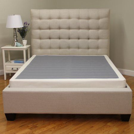 Modern Sleep 4 Instant Foundation Wood Box Spring King Walmart Com Bed Frame Sets Mattress Foundations Box Bed