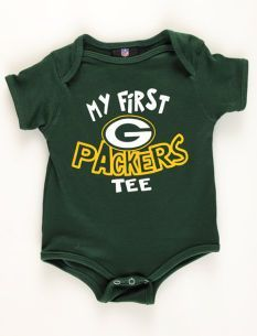 Our Uniform Inspired Green Bay Packers Baby Coverall Will Be The
