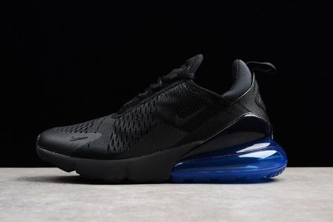 Women 2020 Buy Now New Nike WMNS Air Max 270 Flyknit Dark BlueRed White A01023 106