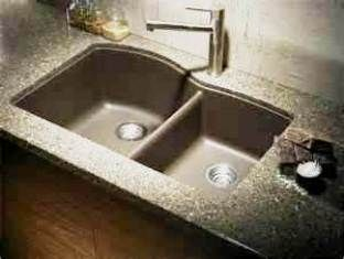 How To Clean A Granite Composite Sink Granite Kitchen Sinks