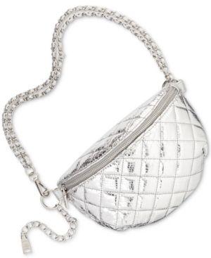 d757be2d75e2f Steve Madden Mandie Convertible Belt Bag - Silver
