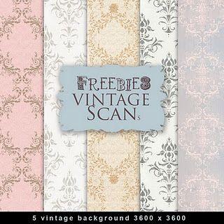 vintage freebies - printables