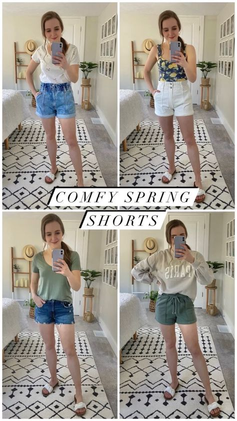Favorite Denim Shorts-Paper Bag Shorts