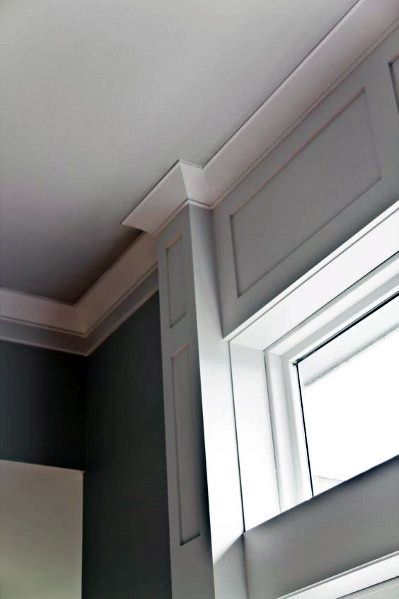 Top 70 Best Crown Molding Ideas Ceiling Interior Designs Crown Molding Modern Moldings And Trim Ceiling Crown Molding