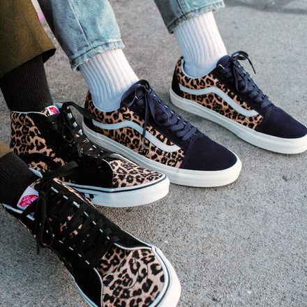 Go wild with the customs Leopard print. Start designing at vans ...