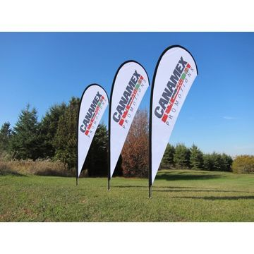 Cost Will Not Be A Factor Now When It Comes To The Rollup Banners In Nz The Quality Is Also Of The Highest Ebb Teardrop Banner Feather Flags Custom Flags
