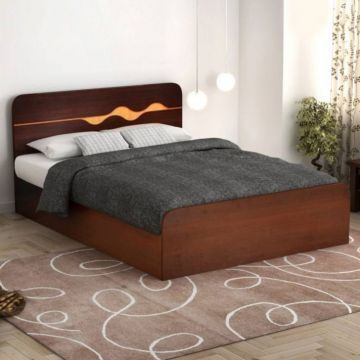 Swirl Engineered Wood Box Storage King Size Bed In Multi Color Colour By Hometown King Size Bed Storage Boxes Wood Boxes