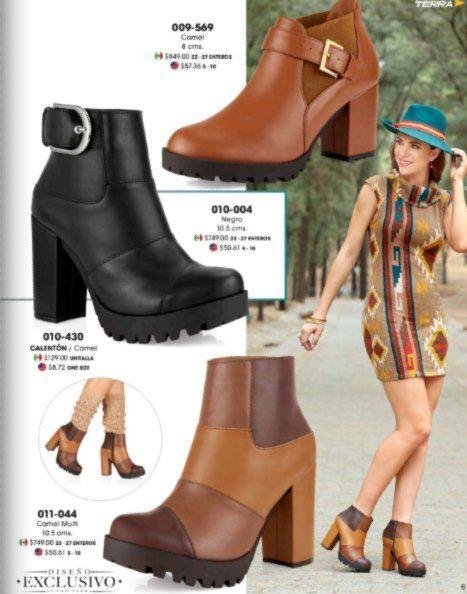 botas de mujer cortas 2016