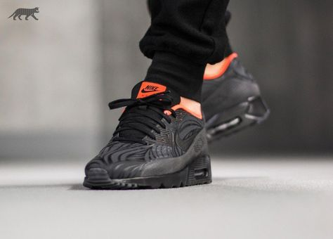 Nike Air Max 90 Ultra Moire FB (Black Black Anthracite