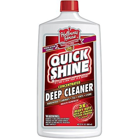 Quick Shine Deep Cleaner 27 Oz Household Floor Cleaning Remove Ground In Dirt Quickshine