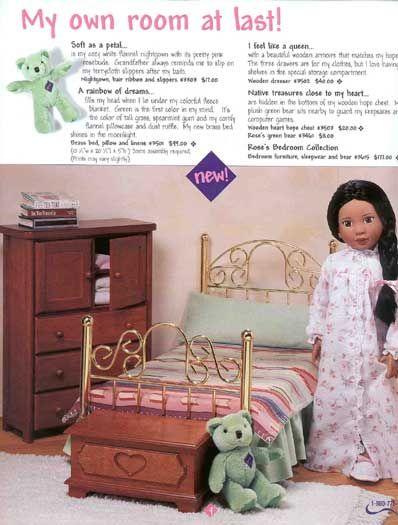 Heather's Bedroom set (from the Magic Attic Club)   dolls   Pinterest    Attic