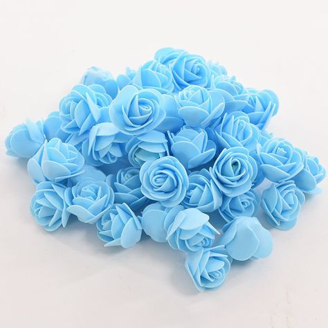 50 pcs/bag pe busa mawar buatan tangan diy pernikahan