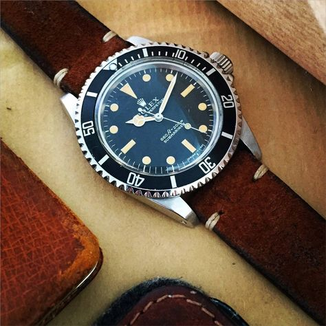 Rolex Stainless Steel Submariner Automatic Wristwatch Ref 5513 | From a unique collection of vintage wrist watches at https://www.1stdibs.com/jewelry/watches/wrist-watches/