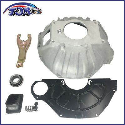 "NEW CHEVY BELLHOUSING KIT,COVER,CLUTCH FORK,THROWOUT BEARING,GM,11/"",3899621,OEM"