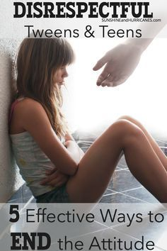 Disrespectful Teens and Tweens - 5 Ways To End The Attitude Today!
