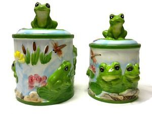 Frog Kitchen Decor   New Frog Frogs Google Eyes Resin Bathroom Collection  Toothbrush Soap ...   I U003c3 Frogs!!   Pinterest   Frogs