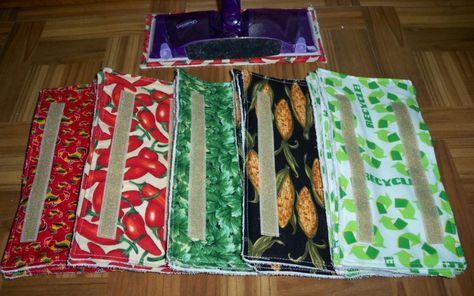 Stop wasting money on disposable swiffer wet jet pads!  These are machine washable, use them over and over!