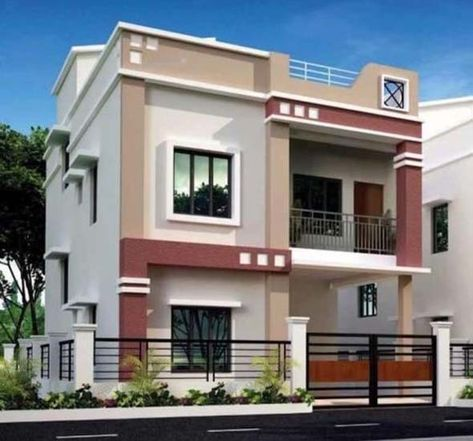 Ideas For Simple And Modern Dream Home House Design Pictures Duplex House Design House Front Design