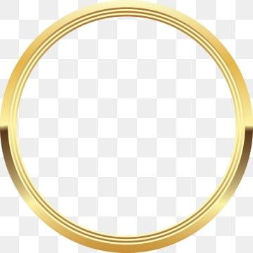 Gold Circle Circle Clipart Goldcircle Png And Vector With Transparent Background For Free Download Circle Clipart Gold Circle Frames Frame Border Design