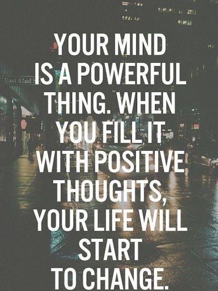 32 Motivational Power Of Positive Thinking