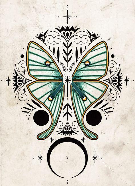 Very interesting design. David Hale-like. Body Art Tattoos, Fox Tattoos, Tree Tattoos, Buddha Tattoos, Hand Tattoos, Rabbit Tattoos, Tatoos, Japanese Sleeve Tattoos, Full Sleeve Tattoos