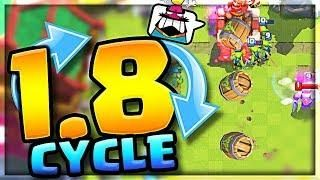 Wow 1 8 Cycle Deck Triple Elixir Challenge Clash Royale Clash Royale Clash Royale Deck Cycle