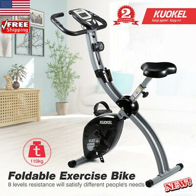 Ad Ebay Foldable Exercise Bike Indoor Cycling Bicycle Fitness