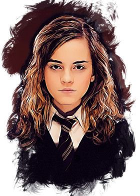 Hermione Granger Sketch Fond Ecran Harry Potter