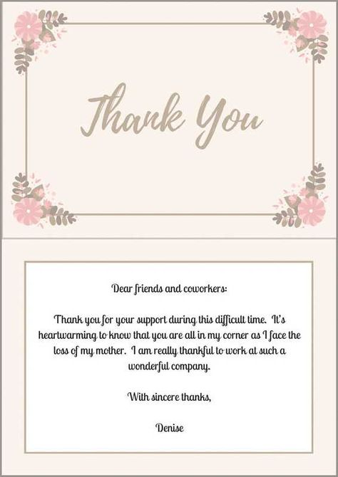 Best  Sample Thank You Notes Ideas On   Interview