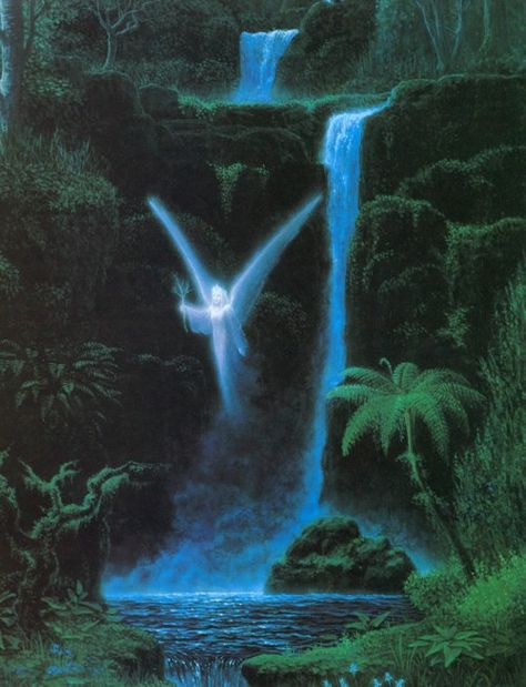 Gilbert Williams is one of the most respected visionary artists in the world. This is just a portion of his impressive body of work. We have chosen some of Gilbert's most recognizable peices as well as some personal favorites of the artist. Fantasy Landscape, Fantasy Art, Arte Grunge, Between Two Worlds, Nature Aesthetic, Forest Fairy, Expo, Visionary Art, Fairy Art