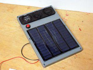 Portable Solar 12v Battery Pack Solar Power Energy Solar Energy Panels Solar Projects
