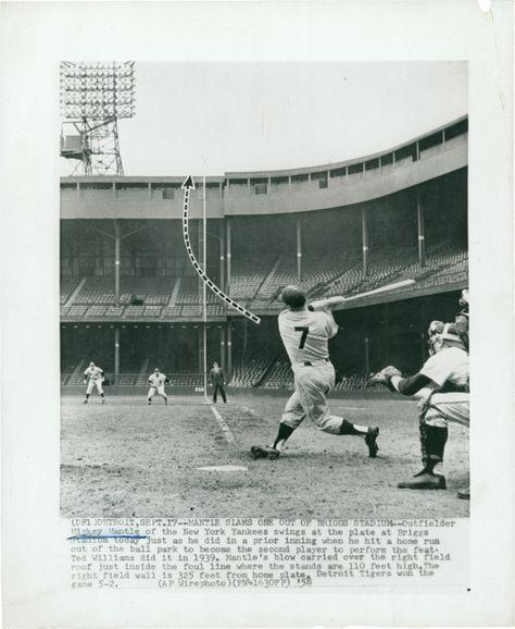 Hank G Sandy Mickey Hank A Lou The Babe Baseball Classic New York Yankees Stadium Baseball Stadium